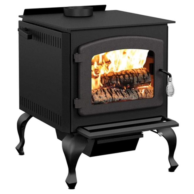 """Legend"" High-Efficiency Wood Stove - 2100 sq ft"