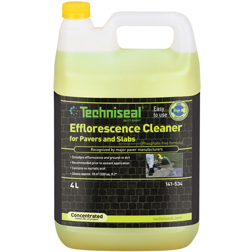 Cleaner Efflorescence Clearer for Pavers and Slabs