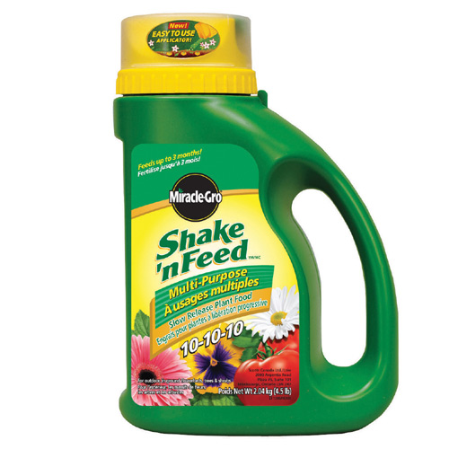 "Fertilizer - ""Shake'n Feed"" Plant Food 10-10-10"