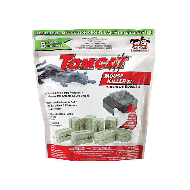 """Tomcat"" Refillable bait station - 8 Refills"