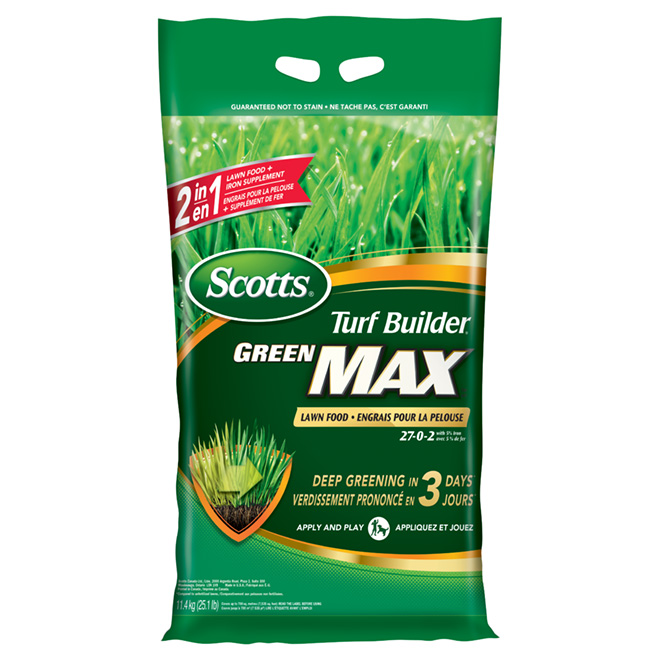 Turf Builder 27-0-2 Lawn Fertilizer - 11.4 kg