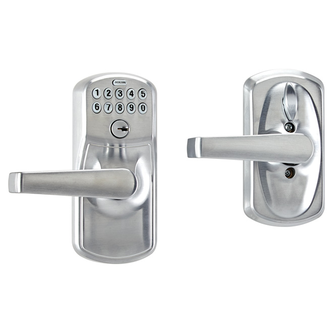 Entrance Lever With Keypad Lock Rona