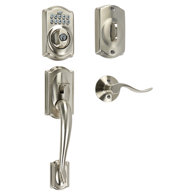"""Camelot/Accent"" Entrance Lockset"