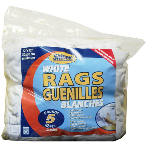 Cleaning Rags - 5 lb Bag