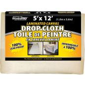 Laminated Drop Cloth