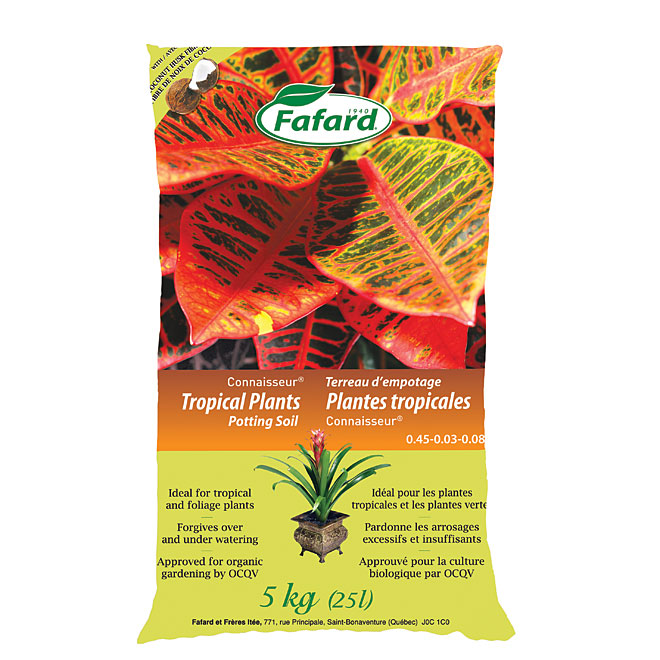 """Connaisseur"" Tropical Plants Potting Soil"