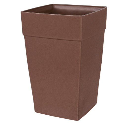 """Harmony"" Elongated Planter - Brown"