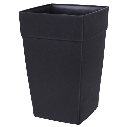 """Harmony"" Elongated Planter - Black"
