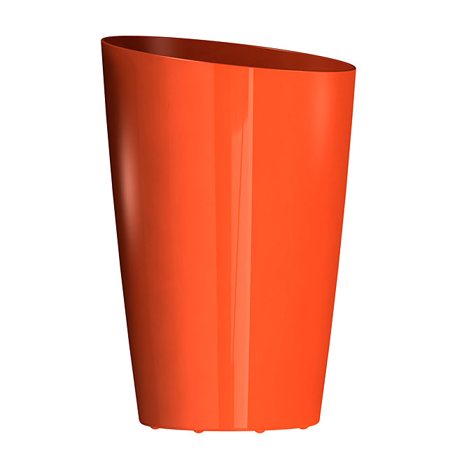 """Mirage"" Elongated Planter - Orange"