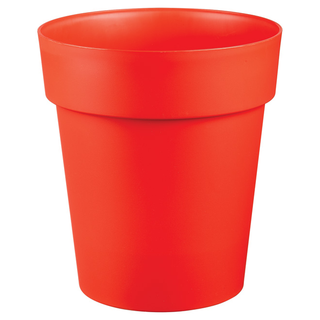 "Planter Pot - ""Viva"" - 11"" - Flat Red"