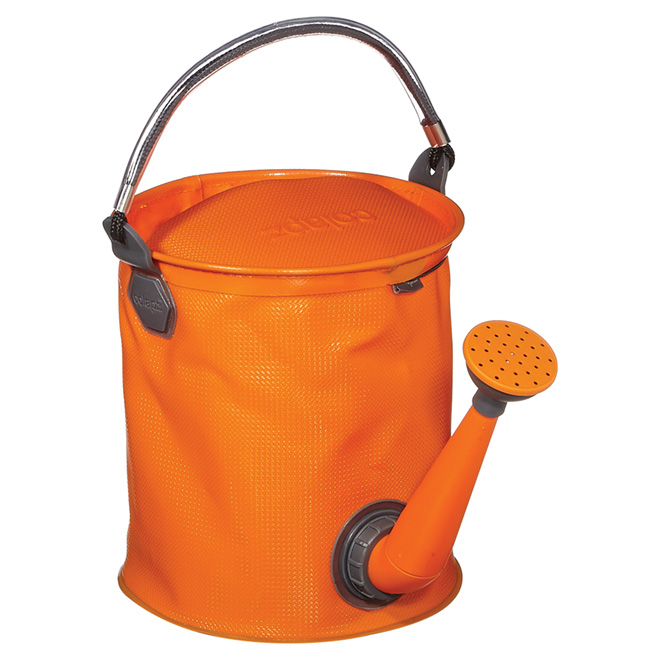 Watering Can and Bucket, 7 L - 2-in-1 - Orange