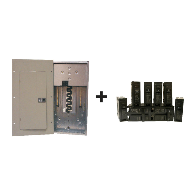 "Breaker - ""Ez Pack"" 100A/20 Space Panel/Breakers"