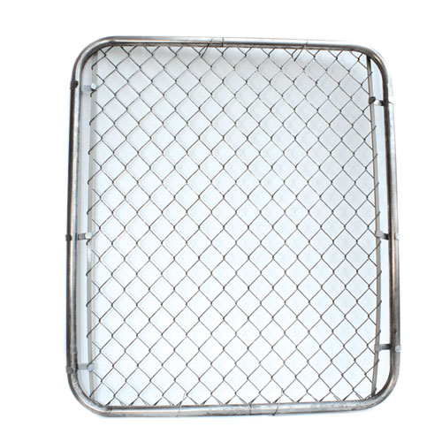 "Galvanized Chain-Link Fence Gate - 48"" x 42"""