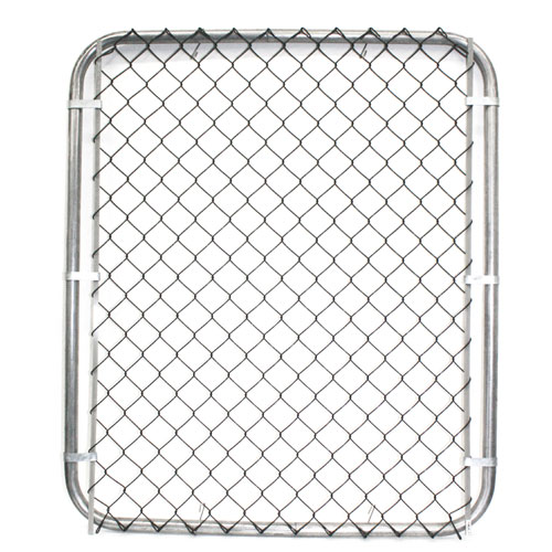 Galvanized Chain-Link Fence Gate - 48 x 42""