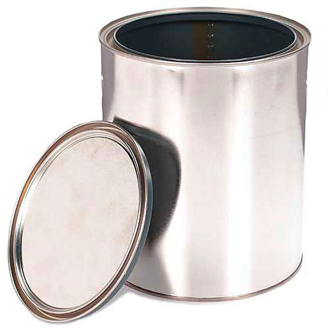 Empty Metal Can