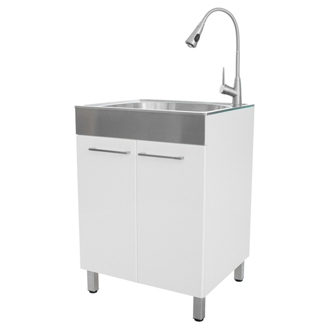 Laundry Tub with Faucet Kit RONA