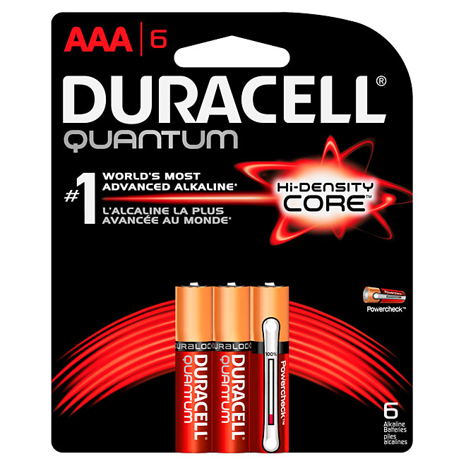 Pack of 6-AAA Batteries