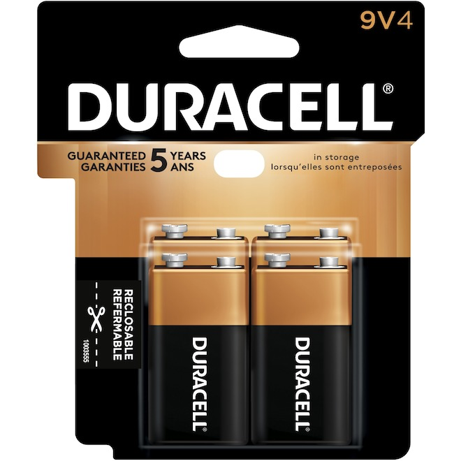 Pack of 4 9-V Batteries