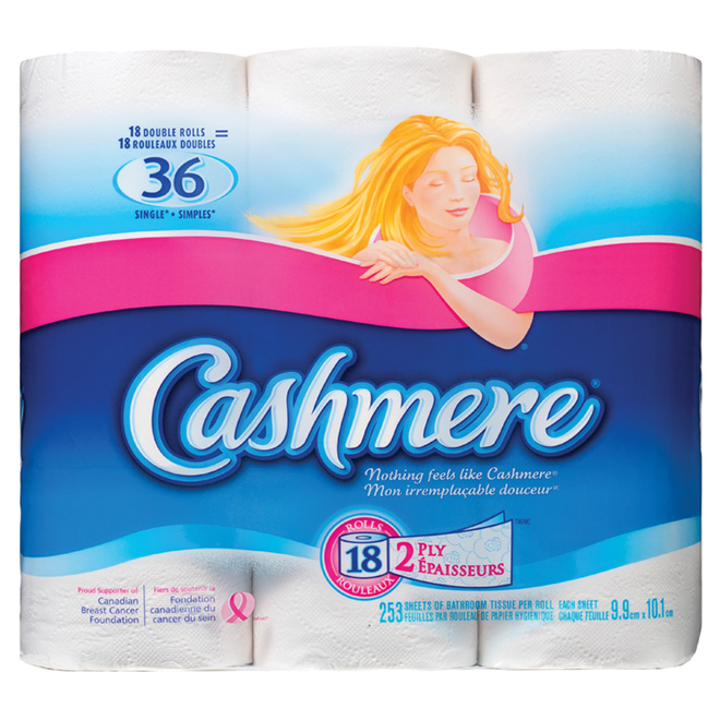 """Cashmere"" Bathroom Tissue - 18-Roll Pack"