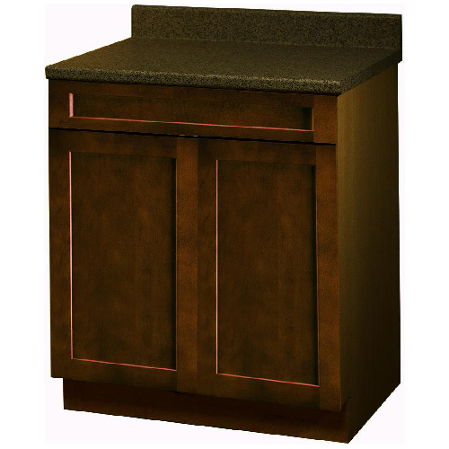"""Everwood"" 2 Doors 1 Drawer Base Cabinet 30 in."