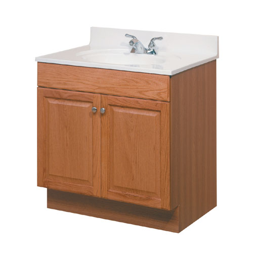 """Otonabee"" 2 Doors Vanity 24 in. X 18 in. Oak"