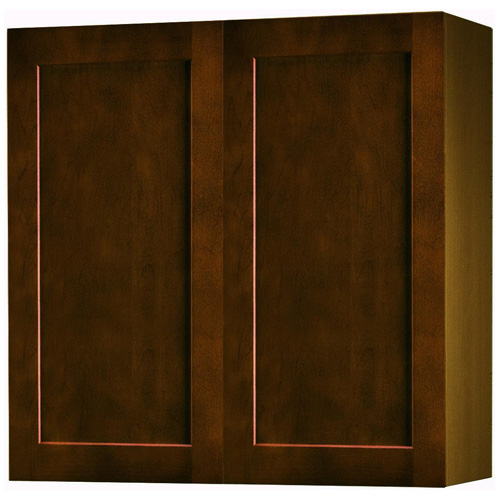 "Wall Cabinet with 2 Doors - ""Everwood"" - 30"" - Espresso"