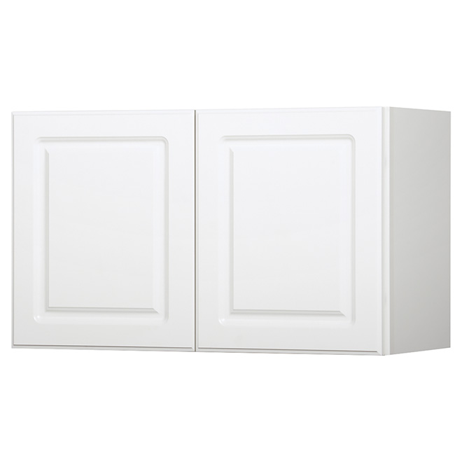 "Wall Cabinet - Marquis - 2 Doors - 30"" x 15"" - White"