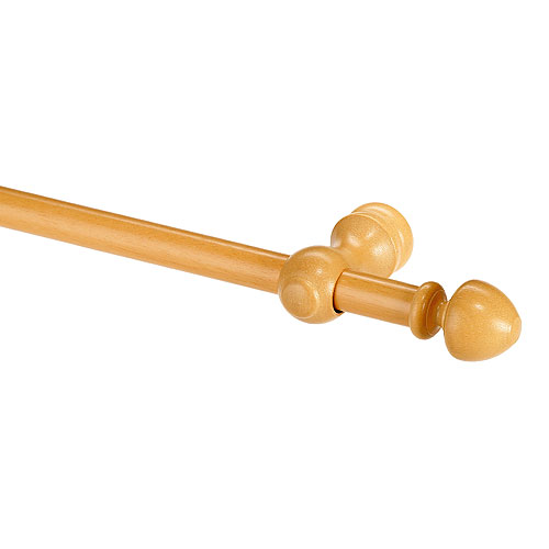 curtain rod wooden tips and curtain rod rona