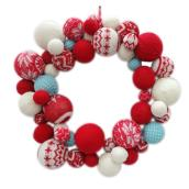 Holiday Artificial Wreath - 18