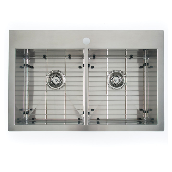 odyssey double sink rona - Rona Kitchen Sink