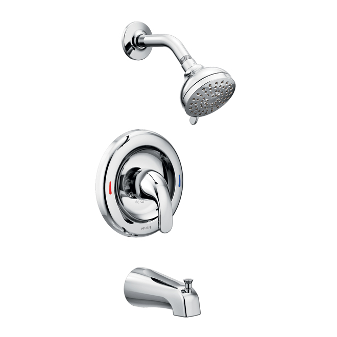 Adler 1 handle tub and shower faucet rona for Robinet salle de bain rona