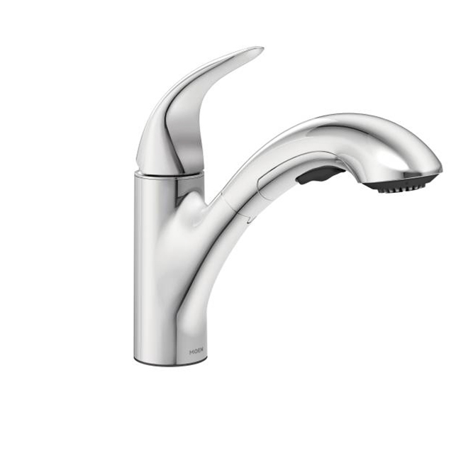 Medina 1-Handle Pull-Out Kitchen Faucet - Chrome   RONA