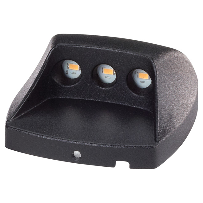 Low-Voltage LED Deck and Stair Light - Black