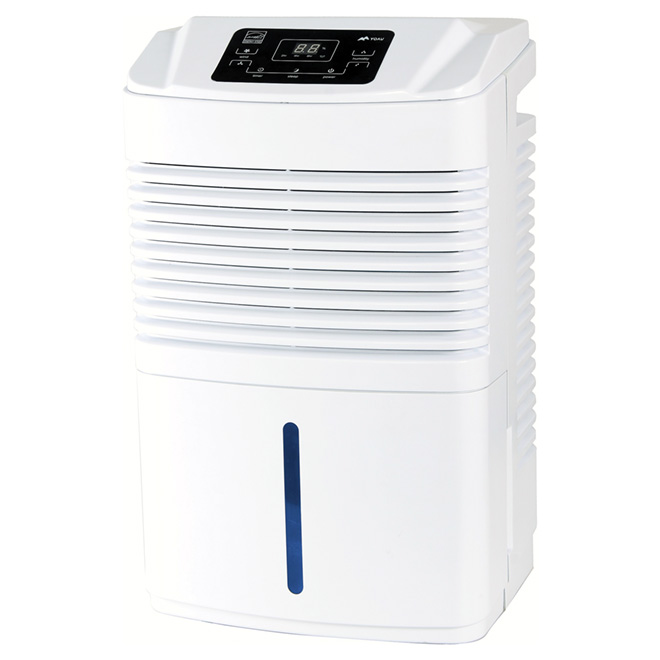 Electronic Dehumidifier 24 L - 3000 sq. ft. - White