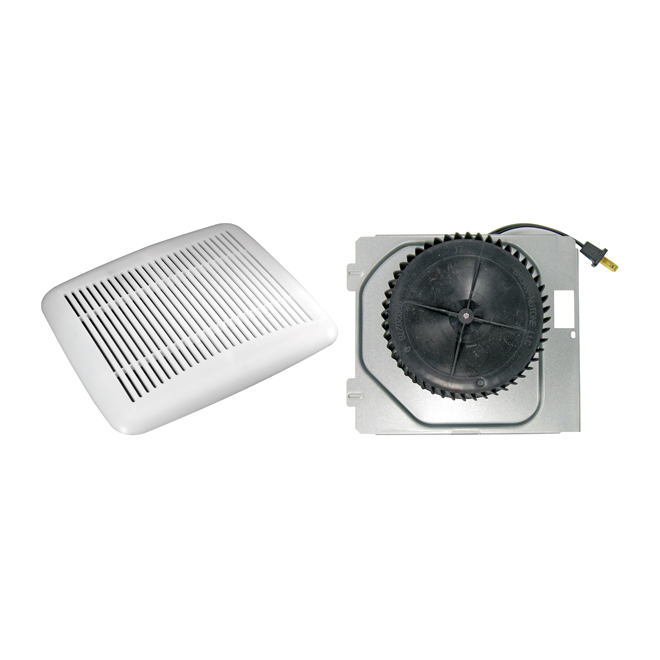 Bathroom fan transformation kit