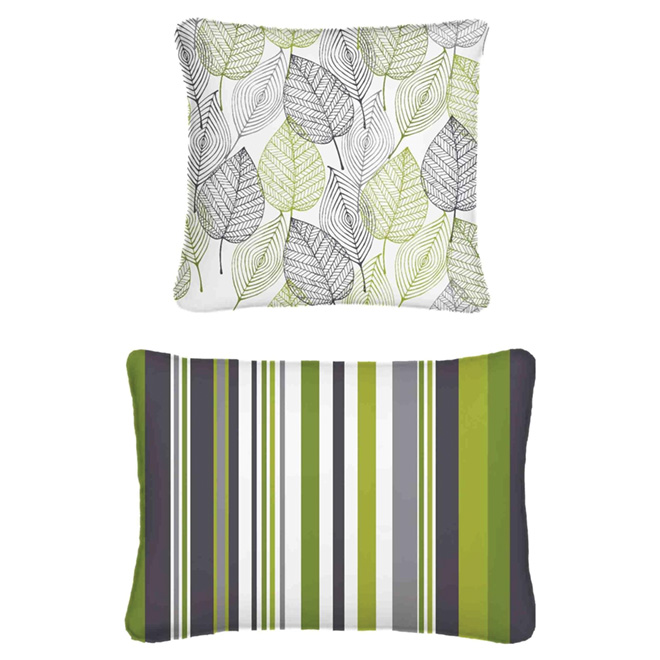 "Outdoor Reversible Cushion - 17"" x 17"""