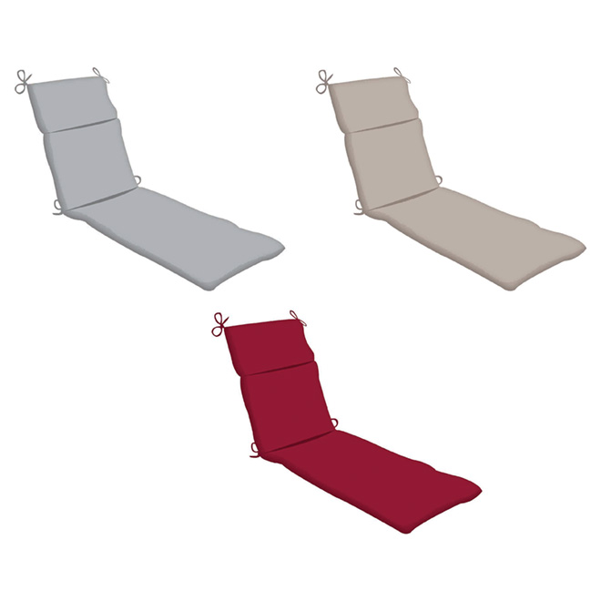 Outdoor Lounger Chair Seat Cushion - 70""