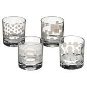 Verres DOF 300 ml, paquet de 4, couleurs assorties