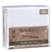 Super Soft Sheet Set - Queen Bed - Solid White