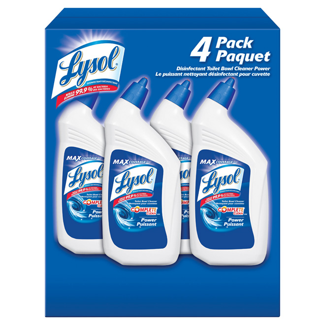 Lysol Toilet Bowl Clener - 4 x 946 mL