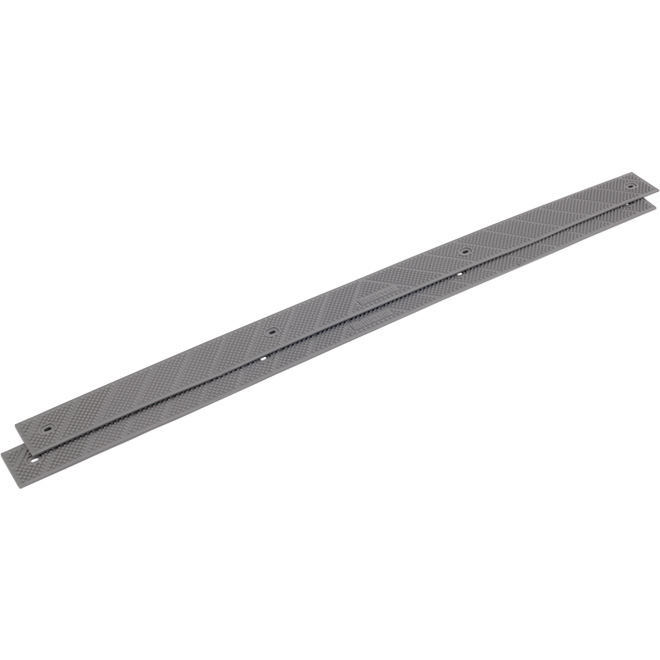 "Anti-Slip Stair Strip - 2""x32"" - Grey - 2/Pack"