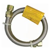 Gas Connector - Dryer - 3/8