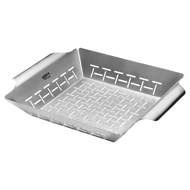 BBQ Stainless Steel Vegetable Basket