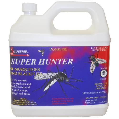 Super Hunter of Mosquitoes and Black flies