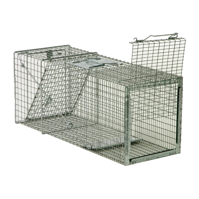 Cage with 1 door and 1 release door