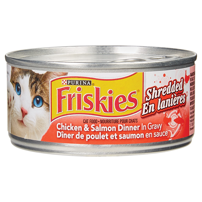 Wet Cat Food 156 g - Chicken and Salmon
