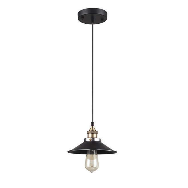 """Ezra"" 1-Light Pendant Lamp"