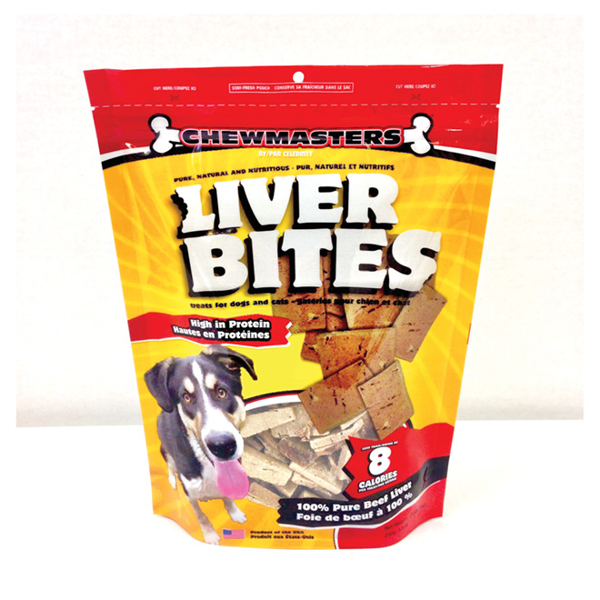 Beef Liver Dog Treats, Pack of 250 g