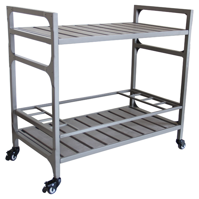"""Luxembourg"" Patio Cart - Grey"