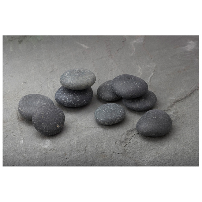 "Polished Landscape Rocks 2""-3"" - Grey"